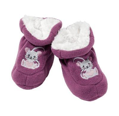 Baby-Mädchen-Schühchen mit süßer Stickerei