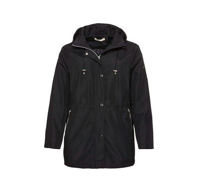 Damen-Jacke mit schicker Kapuze, große Größen