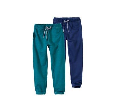 Jungen-Jogging-Hose mit elastischem Bund, 2er Pack