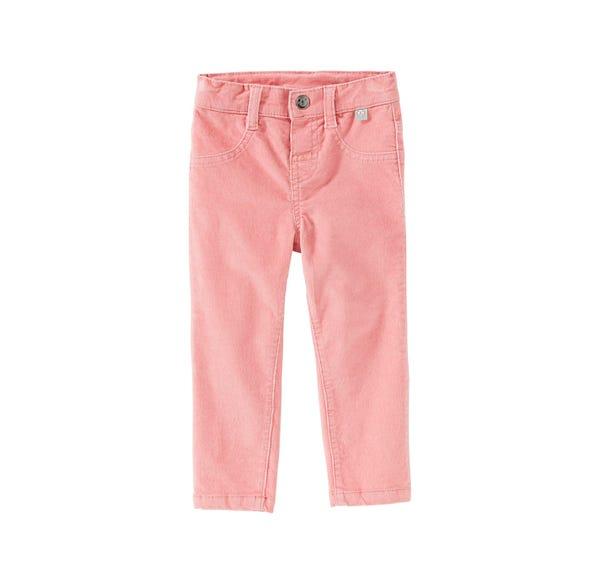 Baby-Mädchen-Hose mit verstellbarem Bund