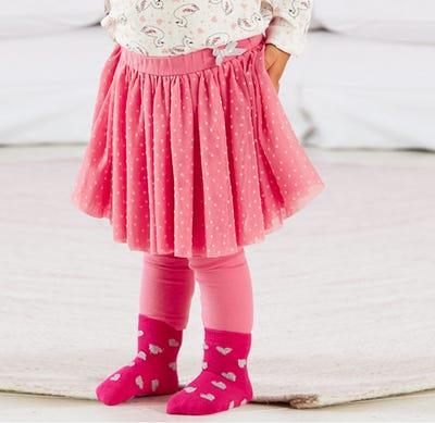 Baby-Mädchen-Leggings mit schönem Rock