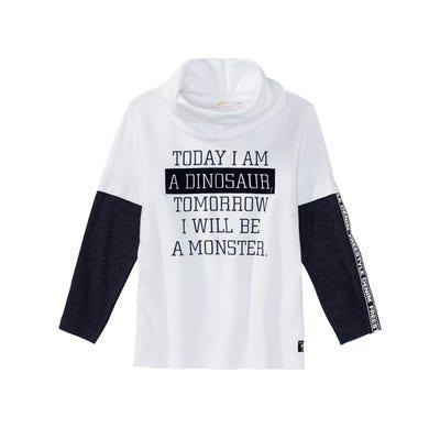 Jungen-Shirt mit tollem Spruch