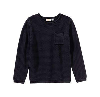 Jungen-Pullover mit Brusttasche