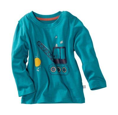 Baby-Jungen-Shirt mit aufregendem Bagger