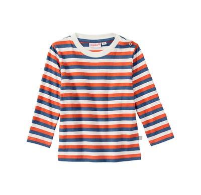 Baby-Jungen-Shirt mit Streifenmuster, 2er Pack