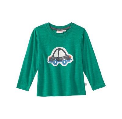 Baby-Jungen-Shirt mit Auto-Applikation