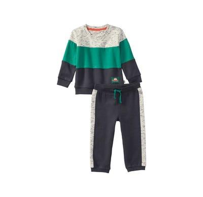 Baby-Jungen-Set mit Streifendesign, 2-teilig