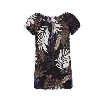 Damen-Bluse mit floralem Design
