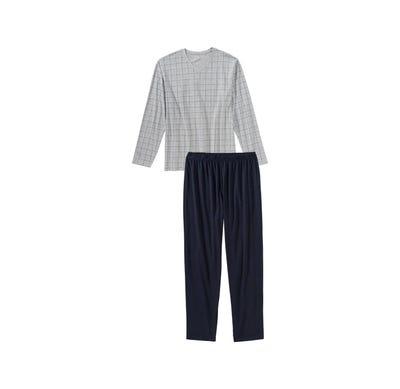 Herren-Schlafanzug mit Karomuster, 2-teilig