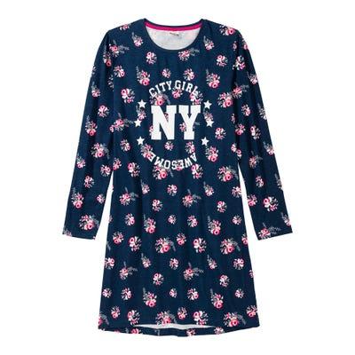 Mädchen-Nachthemd mit Blumenmuster
