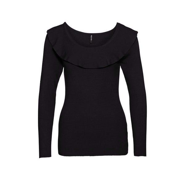 Damen-Pullover mit Carmen-Ausschnitt