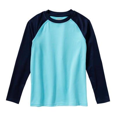Jungen Thermo-Shirt mit Kontrast-Ärmeln