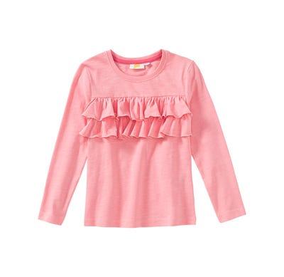 Mädchen-Shirt mit schicken Rüschen