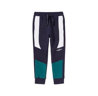 Jungen-Jogginghose mit verschiedenen Kontrast-Einsätzen