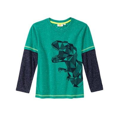 Jungen-Shirt mit coolem Dino