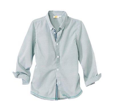 Jungen-Hemd aus reiner Baumwolle