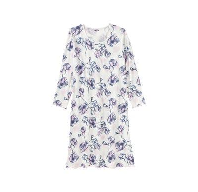 Damen-Nachthemd mit schicken Biesen