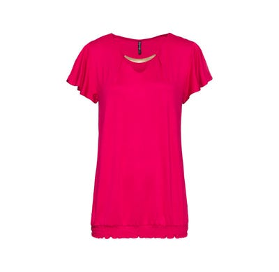 Damen-T-Shirt mit glänzender Verzierung