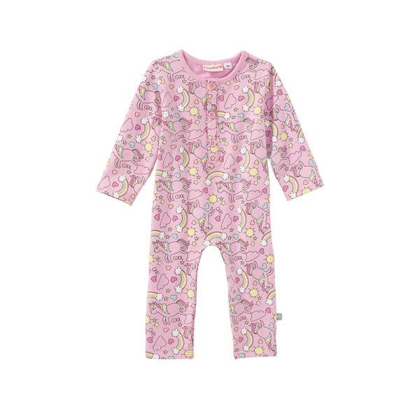 Baby-Mädchen-Overall mit magischem Muster