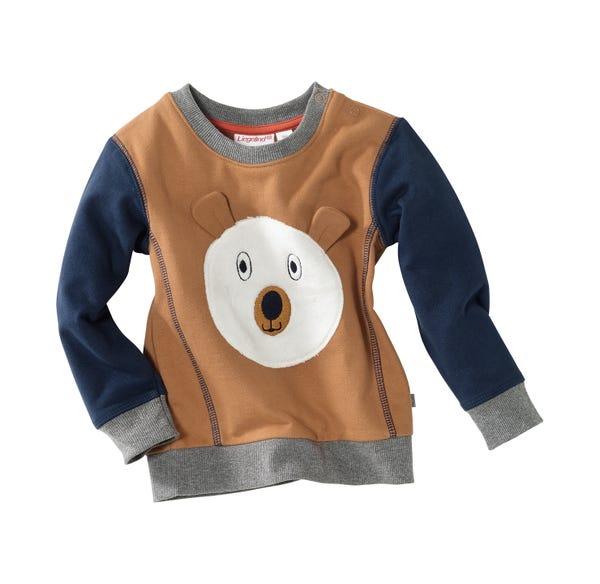 Baby-Jungen-Sweatshirt mit niedlichem Bär