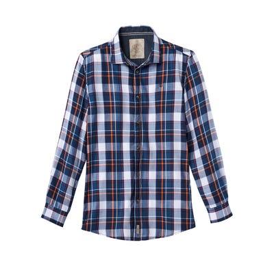 Herren-Hemd mit stylischem Karo-Muster