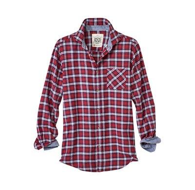 Herren-Flanellhemd in verschiedenen Designs
