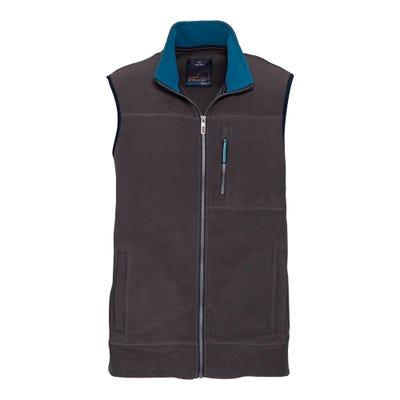 Herren-Fleeceweste mit Reißverschluss-Brusttasche