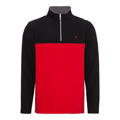 Herren-Sweatshirt mit Kontrast-Design