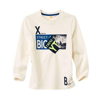 Jungen-Shirt mit coolem Motiv