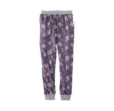 Damen-Hose mit hübschem Ripp-Bündchen