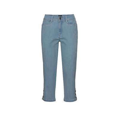 Damen-Jeans mit schicken Knöpfen