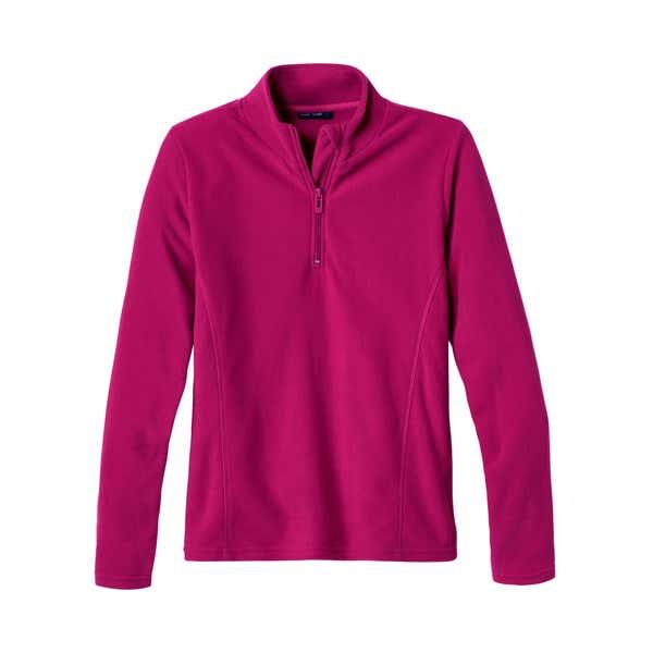 Damen-Sweatshirt mit Troyer-Kragen