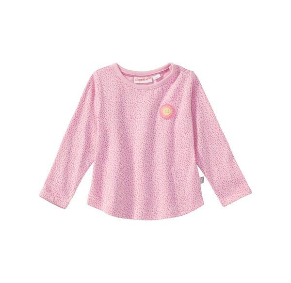 Baby-Mädchen-Shirt mit Sonnen-Applikation