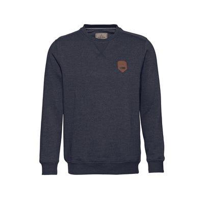 Herren-Sweatshirt mit Applikation