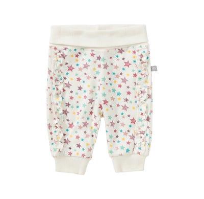 Baby-Mädchen-Jogginghose mit Sternchen-Muster