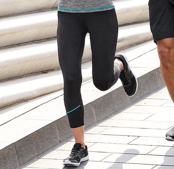 Damen-Fitnesshose in sportlichem Design