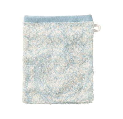 Waschhandschuh mit Jacquard-Muster, 16x21cm