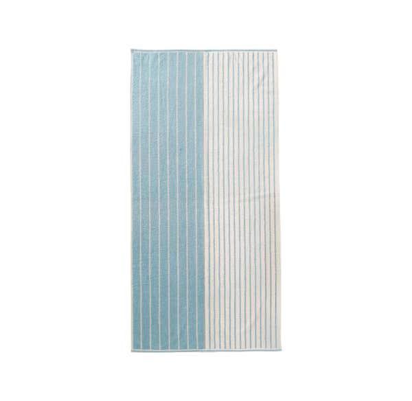 Duschtuch mit Streifenmuster, 70x140cm