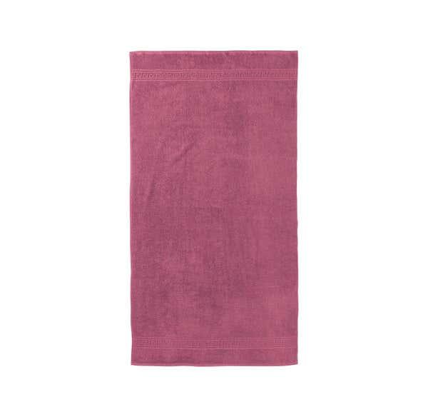 Duschtuch mit schicker Bordüre, 70x140cm