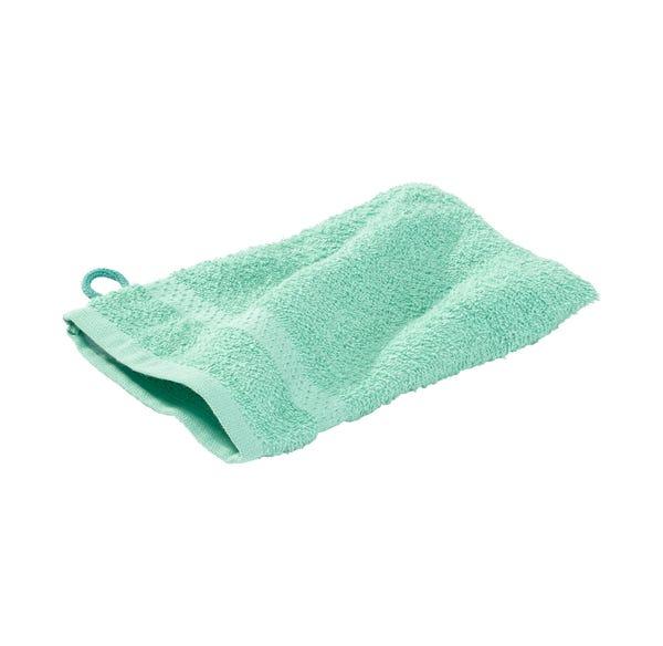 Waschhandschuh in trendigen Farben, ca. 16x21cm, 2er Pack