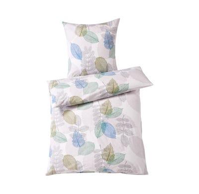 Baumwoll-Bettwäsche in herbstlichem Design