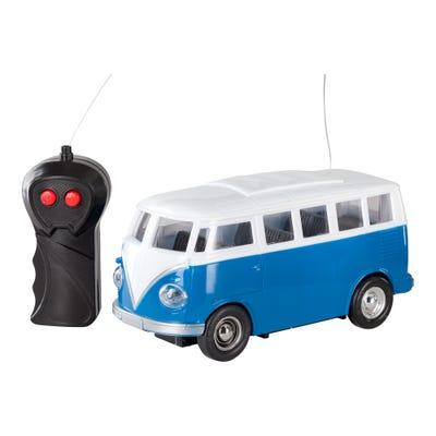 Retro-Bus mit Fernsteuerung, ca. 18cm