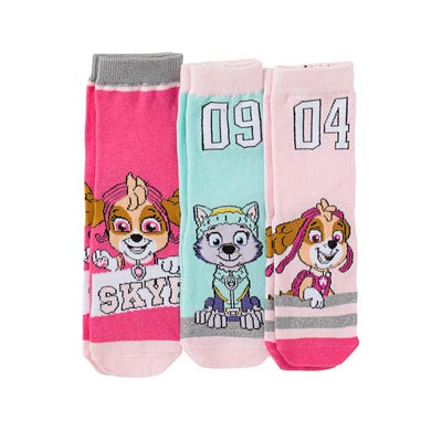 Paw Patrol Mädchen-Socken, 3er Pack