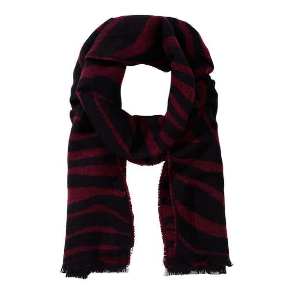 Damen-Schal mit hübschen Zierfransen