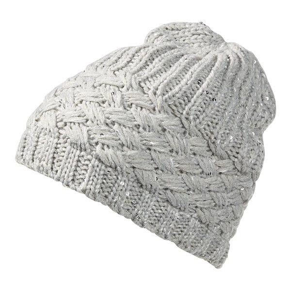 Damen-Mütze mit Pailletten