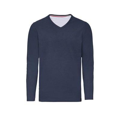 Herren-Shirt in Melange-Optik