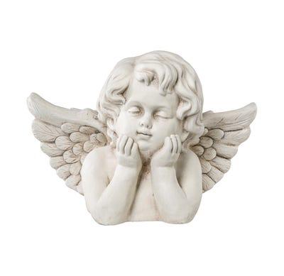 Engel mit tollem Antik-Finish, ca. 36x24x26cm