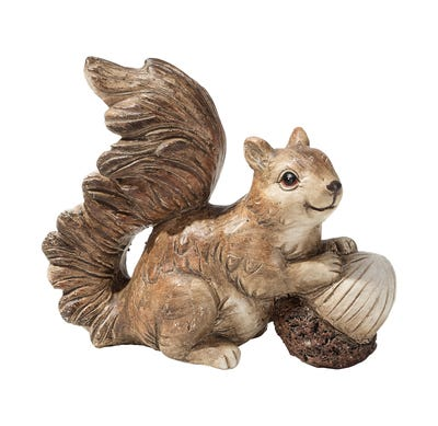 Eichhörnchen in verschiedenen Ausführungen, ca. 9,5x4,5x8cm