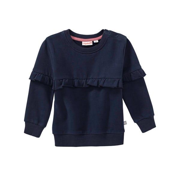 Baby-Mädchen-Sweatshirt mit schicken Rüschen