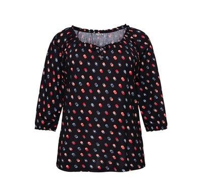 Damen-Shirt mit trendigem Muster, große Größen